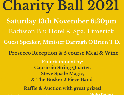 Announcing Minster Darragh O'Brien T.D. as the Guest Speaker at The Mid West Simon  Charity Gala Ball